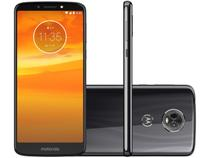 Smartphone Motorola Moto E5 Plus 16GB Grafite - Dual Chip 4G Câm. 12MP + Selfie 5MP Flash Tela 6""