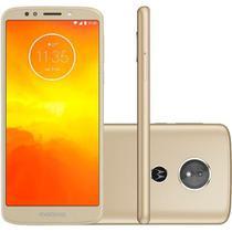 Smartphone Motorola Moto E5 Quad-Core, Android 8.0, Tela 5.7, 32GB, 13MP, 4G, Dual Chip - Ouro - Asus