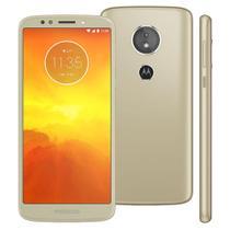Smartphone Motorola Moto E5 XT1944 Ouro com 16GB, Tela 5.7'', Dual Chip, Android 8.0, 4G, Câmera 13MP, Processador Quad-Core e 2GB de RAM -