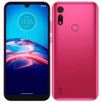 "Smartphone Motorola Moto E6i 32GB Tela 6.1"" Câmera 13MP Frontal 5MP Android 10 Go Pink -"