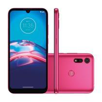 "Smartphone Motorola Moto E6S 32GB 2GB RAM Câmera 13MP Tela 6.1"" - Pink -"