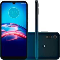 """Smartphone Motorola Moto E6s 32GB Dual Chip 4G Tela 6,1"""" Câmera Dupla 13MP 2MP Frontal 5MP Azul -"""