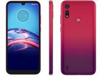 """Smartphone Motorola Moto E6S 64GB Vermelho Magenta - 4G Octa-Core 4GB RAM 6,1"""" Câm. Dupla + Selfie 5MP"""