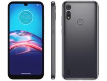 "Smartphone Motorola Moto E6S XT2053 Cinza Titanium 32GB, Tela Max Vision de 6.1"", Câmera Traseira Dupla, Android 9.0, Processador Octa-Core -"