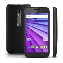 Smartphone Motorola Moto G 3ª Geração (Dual Chip, Android 5.1, 8GB, 5.0pol, 13MP+5MP, 4G) Preto - XT1543 -
