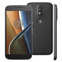 Smartphone Motorola Moto G 4 XT1626 TV, Dual Chip Android 6.0 Tela de 5.5 16GB, Câmera 13MP - Preto -