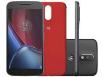 """Smartphone Motorola Moto G 4ª Geração Plus 32GB - Preto Dual Chip 4G Câm. 16 + Selfie 5MP Tela 5.5"""""""