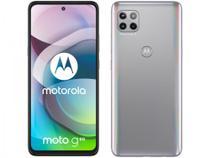 "Smartphone Motorola Moto G 5G 128GB Prata Prisma - Octa-Core 6GB RAM 6,7"" Câm. Tripla + Selfie 16MP -"