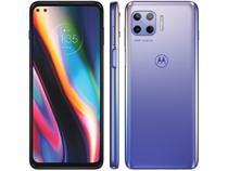 "Smartphone Motorola Moto G 5G Plus 128GB - Lilás Prisma 8GB RAM Tela 6,7"" Câm. Quádrupla"