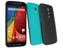 """Smartphone Motorola Moto G DTV Colors 2ª Geração - 16GB Dual Chip 3G Câm. 8MP Tela 5"""" Proc. Quad Core"""