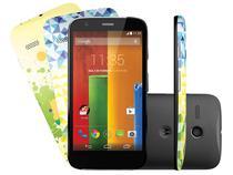 """Smartphone Motorola Moto G Edição Limitada Brasil - 16GB Dual Chip 3G Android 4.4 Câm. 5MP Tela 4.5"""""""