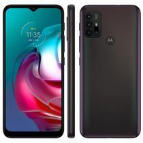 Smartphone Motorola Moto G30 128GB Câmera Quádrupla 64MP 8MP 2MP 2MP Android 11 Dark Prism -