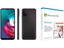 Smartphone Motorola Moto G30 128GB Dark Prism 4G - 4GB RAM + Microsoft 365 Personal 1TB OneDrive