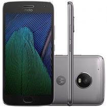 "Smartphone Motorola Moto G5 Plus 32GB 3GB Ram Tela 5.2"" 12MP - Preto -"