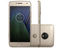 Smartphone Motorola Moto G5 Plus 32GB Ouro  - Dual Chip 4G Câm. 12MP + Selfie 5MP Tela 5.2