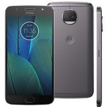 Smartphone Motorola Moto G5s Plus XT1802, 32GB, 5.5'', Dual Chip, Android 7.1, 13MP - Platinum -