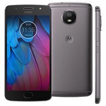 Smartphone Motorola Moto G5s XT1792, 32GB, 5.2'', Android 7.1, 16MP - Platinum -