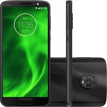 "Smartphone Motorola Moto G6 64GB Dual Chip Android Oreo - 8.0 Tela 5.7"" Octa-Core 1.8 GHz 4G Câmera -"