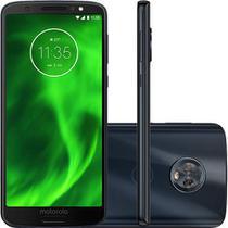 "Smartphone Motorola Moto G6 64GB Dual Chip Android Oreo Octa-Core Tela 5.7"" 4G Câmera 12 + 5MP -"