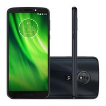 "Smartphone Motorola Moto G6 Play XT1922-5 32GB Indigo Tela 5.7"" Câmera 13MP Android 8.0 -"