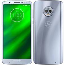 "Smartphone Motorola Moto G6 XT1925-5 Dual SIM 32GB tela Max Vision de 5.7"" 12+5MP/8MP Prata -"