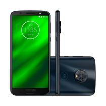 Smartphone Motorola Moto G6 XT1925 64GB Tela de 5.7 Dual Chip Android 8.0 Câmera Octa-Core 4GB RAM -