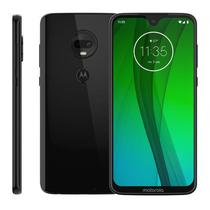 "Smartphone Motorola Moto G7, 6,2"", 64GB, Android 9.0, Octa Core, Dual Chip, Câmera Dupla 12MP + 5MP, Ônix -"