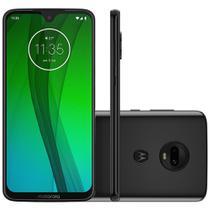 Smartphone Motorola Moto G7 64GB 4GB Tela 6.24 Full HD Câmera 12 + 5MP (Dual Traseira) - Ônix -