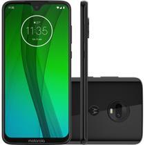 "Smartphone Motorola Moto G7 64gb Dual Chip Android Pie - 9.0 Tela 6.24"" 1.8 Ghz Octa-core 4g Câmera 12 + 5mp (dual Traseira) - Ônix -"