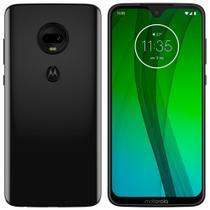 "Smartphone Motorola Moto G7 Onix, Dual Chip, Tela 6,24"", 4G+Wi-Fi, Android, Câm Dupla 12MP+5MP e Frontal 8MP, 64GB -"