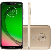 "Smartphone Motorola Moto G7 Play 32GB Dual Chip Android 9.0 4G Tela 5.7"" Octa-Core  - Dourado -"