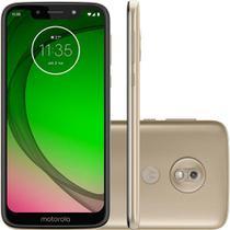"""Smartphone Motorola Moto G7 Play Edição Especial 32GB Câmera 13MP Tela 5,7"""" 2GB Android 9.1 - Ouro -"""