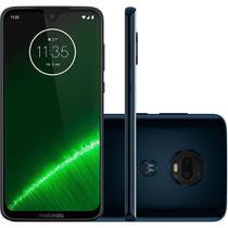 "Smartphone Motorola Moto G7 Plus XT1965 64GB Dual Chip Tela 6.24"" 4G Wi-Fi Câmera Dual 16+5MP Índigo -"