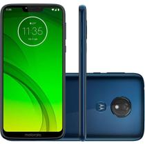 "Smartphone Motorola Moto G7 Power 64GB 4GB OctaCore 1.8GHz 6.2"" 12MP Bateria 5000mAh Android 9.0 Azul Navy -"