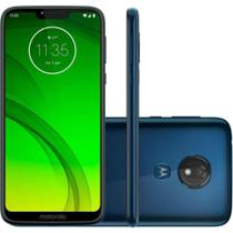 Smartphone Motorola Moto G7 Power 64GB Dual Chip  9.0 Tela 6.2  12MP - Azul Navy -