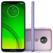 Smartphone Motorola Moto G7 Power 64GB Dual Chip  9.0 Tela 6.2  12MP - Lilas -