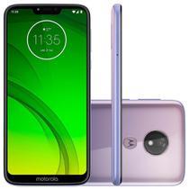Smartphone Motorola Moto G7 Power 64GB Dual Chip  9.0 Tela 6.2  12MP - Lilas -