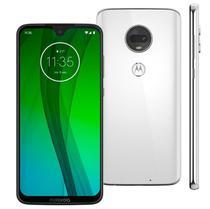 """Smartphone / Motorola / Moto G7 XT-1962-4 / Tela de 6.2"""" / Dual Sim / 64GB - Branco -"""