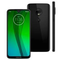 Smartphone Motorola Moto G7 XT1962 64GB 4GB RAM 12MP Tela 6.24 Ônix -
