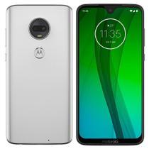 "Smartphone Motorola Moto G7 XT1962, Dual Chip, Tela 6.24"", 4G, Android, Câm 12MP+5MP, 64GB - Branco -"