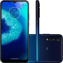 Smartphone Motorola Moto G8 Power Lite 64GB 4GB Tela 6,5 Camera 16MP 2MP Azul Navy