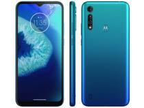 "Smartphone Motorola Moto G8 Power Lite 64GB Aqua - 4G Octa-Core 4GB RAM 6,5"" Câm. Tripla + Selfie 8MP"