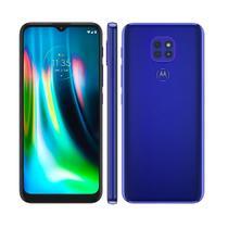 Smartphone Motorola Moto G9 Play 64GB Cam. 48+2+2MP Azul Safira -