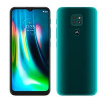 "Smartphone Motorola Moto G9 Play, Verde Turquesa,Tela 6.5"",4G+Wi-Fi, Android 10,3 Câm Traseira 48/2/2MP, Frontal 8MP, 64GB -"