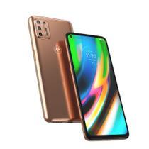 "Smartphone Motorola Moto G9 Plus 128GB Tela 6,8"" - Qualcomm Snapdragon 730G - 4GB RAM - Câm. Quádrupla 64 MP -"