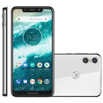 Smartphone Motorola Moto One, 64GB, Dual Chip, 4G, Branco - XT1941 -