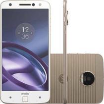 Smartphone / Motorola / Moto Z XT-1650 / Tela de 5.5 / Dual Sim / 32GB - Branco -