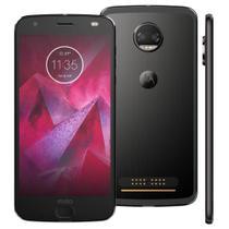 Smartphone Motorola Moto Z2 Force Edition Ônix, 64GB, 5.5'', Android 7.1 - Preto -