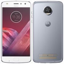 "Smartphone Motorola Moto Z2 Play, 5.5"", 4G, 12MP, 64GB, 4G RAM - Azul Topazio -"