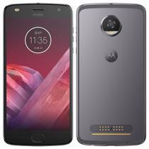 "Smartphone Motorola Moto Z2 Play, 5.5"", 4G, 12MP, 64GB, 4GB RAM - Platinum -"